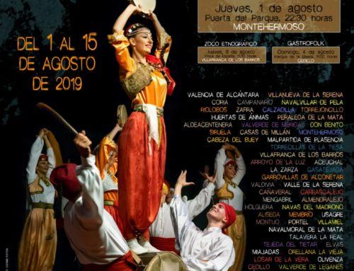 33 EDICIÓN DEL FESTIVAL FOLKLÓRICO DE LOS PUEBLOS DEL MUNDO DE EXTREMADURA